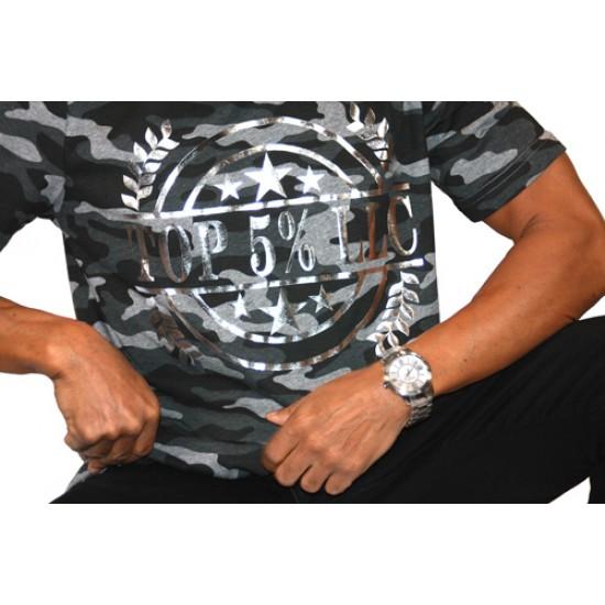 Silver Wreath Camo Shirt