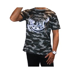 Silver Wreath Camo Shirt