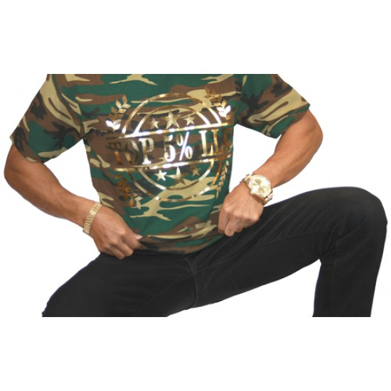 Gold Wreath Camo Shirt
