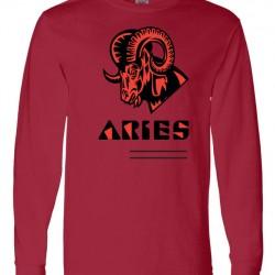 Men Aries Zodiac Shirt