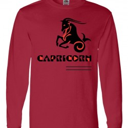 Men Capricorn Zodiac Shirt