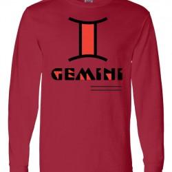 Men Gemini Zodiac Shirt