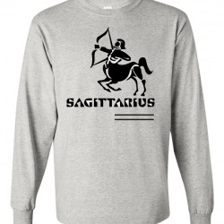 Men Sagittarius Zodiac Shirt