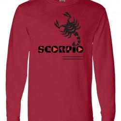 Men Scorpio Zodiac Shirt