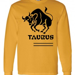 Men Taurus Zodiac Shirt