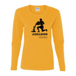 Ladies Aquarius Zodiac Shirt