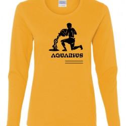 Ladies Aquarius Zodiac Shirt