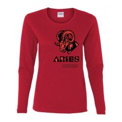 Ladies Aries Zodiac Shirt