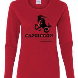 Ladies Capricorn Zodiac Shirt